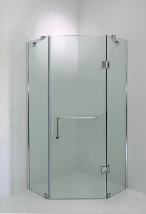 Pbbo 7010 gs brolo pentagonal frameless shower with for 1800mm high shower door
